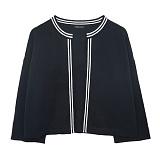 [에이비로드]ABROAD - Basic Classic Cardigan (black) 가디건