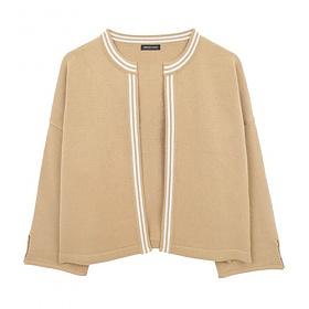[에이비로드]ABROAD - Basic Classic Cardigan (beige) 가디건