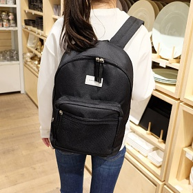 [와드로브]WARDROBE  - DAILY MESH BACKPACK_BLACK 메쉬 백팩