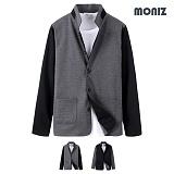 [모니즈]MONIZ  배색 분또 자켓 CCAD102