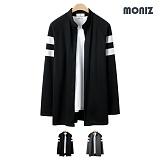 [모니즈]MONIZ  숄더 배색 차이나 가디건 CCAD033