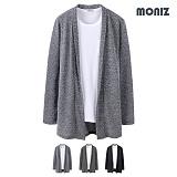 [모니즈]MONIZ  빌리 보카시 롱 숄 가디건 CCAD025