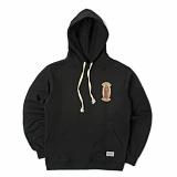 [세인트페인]SAINTPAIN - SP GUADALUPE HOOD-LS-BLACK 후디 후드 롱슬리브 티셔츠