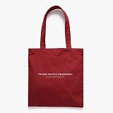 [피스메이커]PIECE MAKER - P.P.P MARKET BAG (DARK RED) 에코백 마켓백