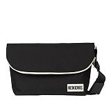 [네이키드니스]STANDARD MESSENGER BAG / BLACK 메신저백 가방