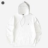 [코싸] koxa logo16 hoodie white 후드티