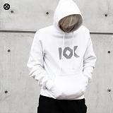 [코싸] kx logo hoodie-k s-white 기모 후드티