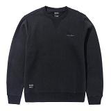 [그루브라임]Grooverhyme - CHEST LOGO SWEATSHIRTS (BLACK) [GM023E33BK] 스��셔츠 맨투맨