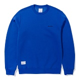 [그루브라임]Grooverhyme - CHEST LOGO SWEATSHIRTS (BLUE) [GM023E33BL] 스��셔츠 맨투맨