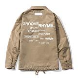 [그루브라임]Grooverhyme - REFRAME COACH JACKET (BEIGE) [GJ001E33BE] 코치자켓