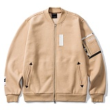 [그루브라임]Grooverhyme - VINTAGE PICTURE ZIP-UP (BEIGE) [GZ002E43BE] 집업 항공점퍼