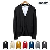 [모니즈]MONIZ 플랫 니트 가디건  CCAD051