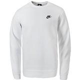 [나이키]NIKE - 맨투맨 NSW 스포츠웨어 클럽크루 804340-100 화이트 크루넥 스��셔츠 _정품 국내배송