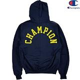 [Champion] 챔피온 Hood Zip Up Logo 기모후드집업 NAVY 정품 국내배송
