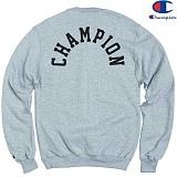 [Champion] 챔피온 CREW LOGO 기모맨투맨 GREY 정품 국내배송