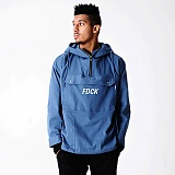 [파이브데크]FIVE DECK - 5A-002 BACK POCKET ANORAK BLUE 아노락 자켓