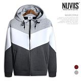 [뉴비스] NUVIIS - 네오배색 네오프렌 후드 집업(RM018HDZ)