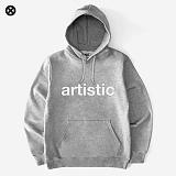 [코싸] kx artistic hoodie-k w-gray 기모 후드티
