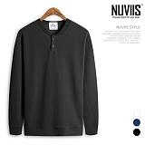 [뉴비스] NUVIIS - 엠보헨리넥 맨투맨(RM016MT) 스웨트셔츠 크루넥