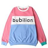 [버빌리안] 1988 스윗 셔츠 맨투맨 핑크