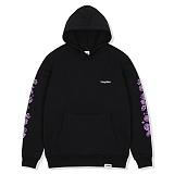 [레이든]LAYDEN - ROSES PULLOVER HOODIE-BLACK 후디 후드 티셔츠