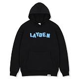 [레이든]LAYDEN - BLOCKS PULLOVER HOODIE-BLACK 후디 후드 티셔츠