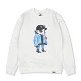 [레이든]LAYDEN - HOTTEST LAYGOM SWEATSHIRTS-WHITE 크루넥 스��셔츠 맨투맨
