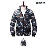 [모니즈]MONIZ 포켓지퍼 밀리터리 깔깔이점퍼 KKA103