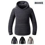 [모니즈]MONIZ 데일리 남여공용 후리스 후드티셔츠 FLE002