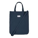 와일드브릭스 - ROUND BAG (blue) 캔버스 토트백 크로스백