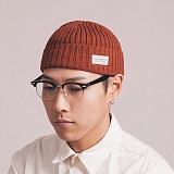 와일드브릭스 - WACTH CAP (red brown) 와치캡 유니섹스