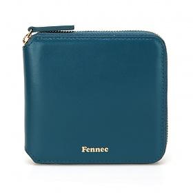 [페넥]Fennec Zipper Wallet 020 Sea Green 지퍼 반지갑