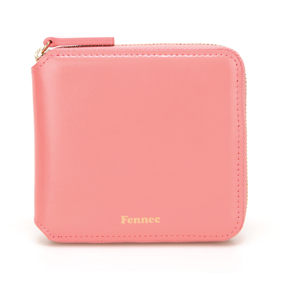 페넥 Fennec Zipper Wallet 021 Coral 지퍼 반지갑