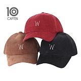 CAP10 - 성인 코듀로이 W자 볼캡
