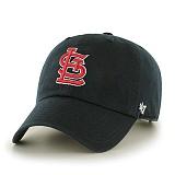 47Brand - MLB모자 세인트 루이스 카디널스 블랙 볼캡 야구모자