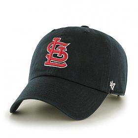 47브랜드 - MLB모자 세인트 루이스 카디널스 블랙 볼캡 야구모자