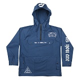 [드리프트아웃]DRIFT OUT - DA-002 HUGE POCKET COTTON ANORAK BLUE 아노락 자켓