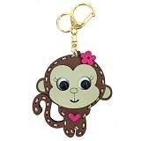 [옐로우몬스터]YellowMonster - 스티치 원숭이 참 키링 - 브라운