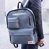 [복 EVENT][에이비로드]ABROAD - Threeeight Backpack (gray) 쓰리에잇 백팩 그레이