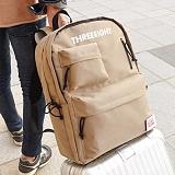 [복 EVENT][에이비로드]ABROAD - Threeeight Backpack (khaki beige) 쓰리에잇 백팩 카키 베이지
