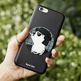 [비욘드클로젯X매니퀸] 아이폰6 케이스 - 코코 도그 블랙