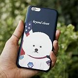 [비욘드클로젯X매니퀸] 아이폰6 케이스 - 아폴로 도그 아티피셜 레더