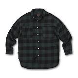 [AUB]에이유비 - MLHZ_checkshirts GREEN 체크 남방 셔츠