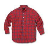 [AUB]에이유비 - MLHZ_checkshirts RED 체크 남방 셔츠