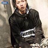 [제네럴웍스]GENERALWORKS - GPH301 하프집업 아노락 후디 - 블랙 재킷 자켓 반집업