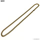 SEXTO - [써지컬스틸]S-00 chain necklace GOLD 체인목걸이