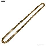 SEXTO - [써지컬스틸]S-02 chain necklace GOLD 체인목걸이