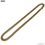 SEXTO - [써지컬스틸]S-04 chain necklace GOLD 체인목걸이