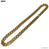 SEXTO - [써지컬스틸]S-08 chain necklace GOLD 체인목걸이