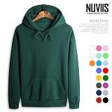 [뉴비스] NUVIIS - 남여공용 기모 양면무지후드티셔츠 (KH025HD)
